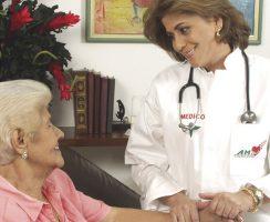 Atención médica en casa