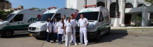 Profesionales de Asistencia Médica Inmediata