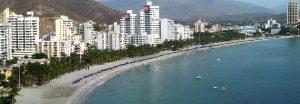 Panoramica de Santa Marta Colombia