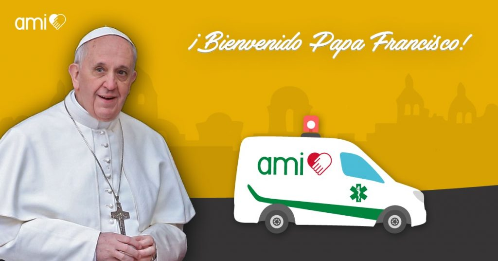 Papa Francisco en Colombia