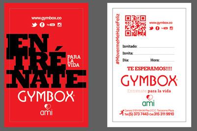 Gymbox gimnasio Colombia