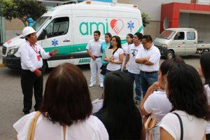 charla de seguridad AMI Asistencia Médica