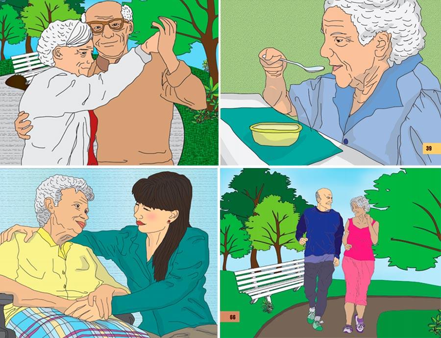 Cuidados para adultos mayores