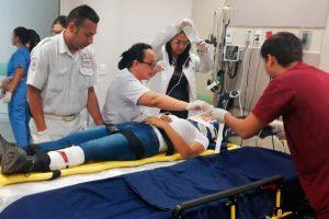 Asistencia médica para simulacros